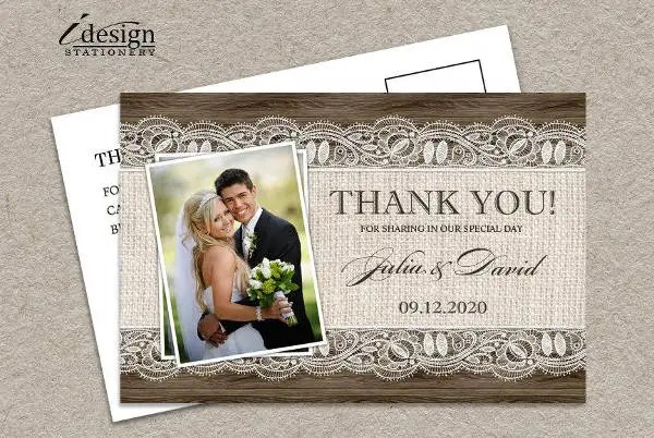 10+ Rustic Thank You Cards - Free Sample, Example, Format Download