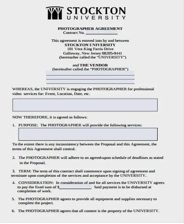 9+ Vendor Contract Template Free  Premium Templates - vendor contract agreement