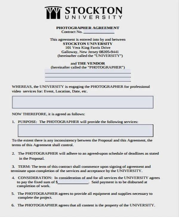 10+ Vendor Contract Templates - Word, PDF Free  Premium Templates