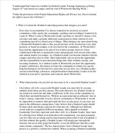 Leadership Essay \u2013 7+ Free Samples, Examples, Format Download Free