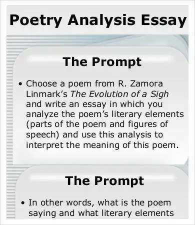 Analysis Essay Template - 7+ Free Samples, Examples, Format Free