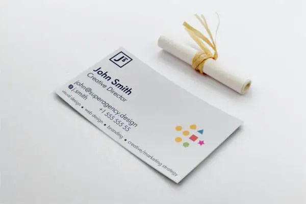 108+ Inspiring Minimalist Business Card Templates - AI, Ms Word, PSD