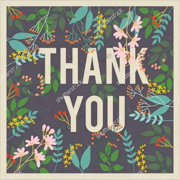 free thank you cards templates