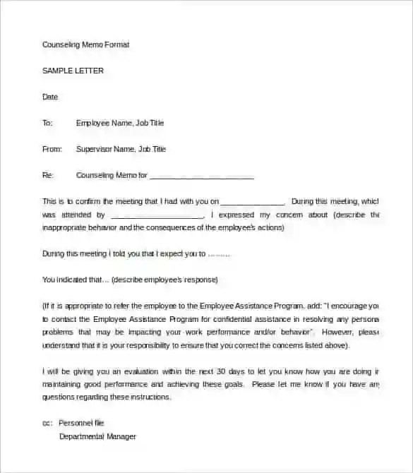 23+ HR Warning Letters - Free Sample, Example Format Free - disciplinary memo template