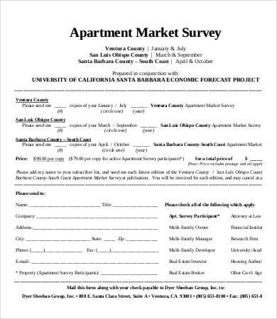 Market Survey Template - 11+ Free Word, PDF Documents Download - printable survey forms