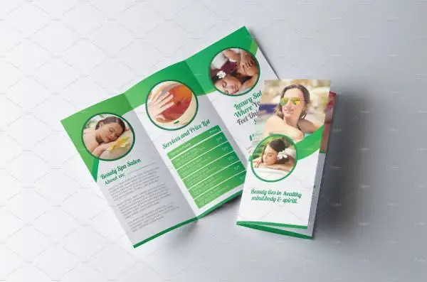 9+ Spa Brochures - Printable PSD, AI, InDesign, Vector EPS Format