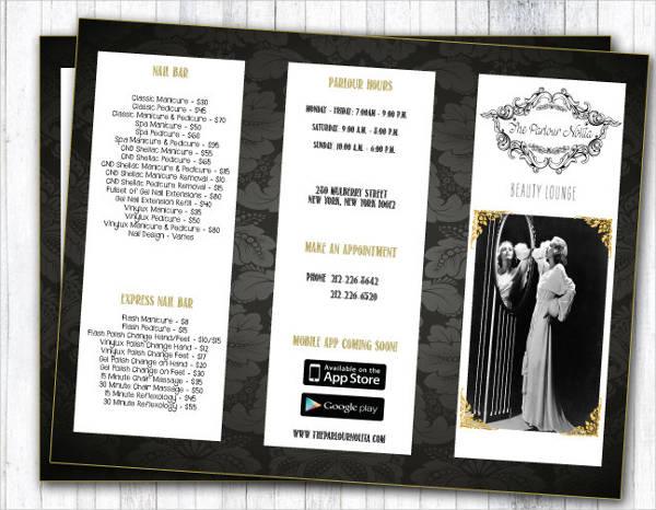 Salon Brochure  NodeCvresumePaasproviderCom