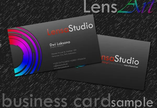 Awesome Collection Of Free Business Card - Business Cards - business card sample