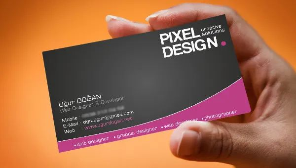 business card samples free