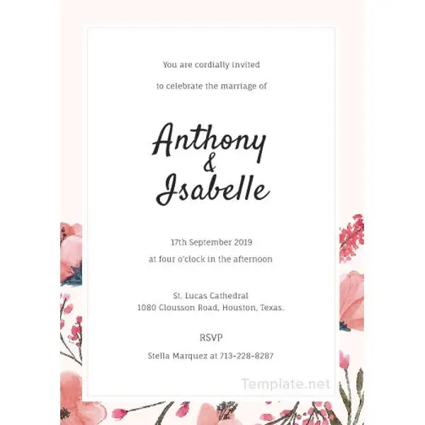 22+ Free Wedding Invitation Templates - Traditional, Modern, Royal