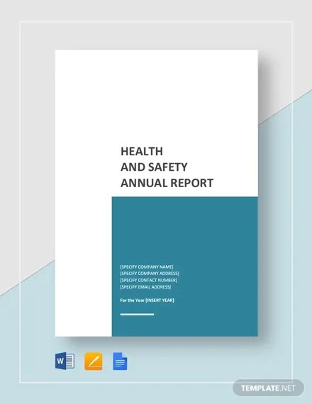13+ Sample Annual Report Templates - Word, PDF, Pages Free
