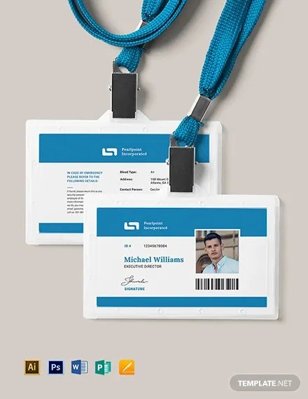 32+ ID Card Templates - PSD, AI, Word, Pages Free  Premium Templates