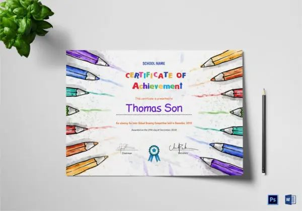 certificate blanks