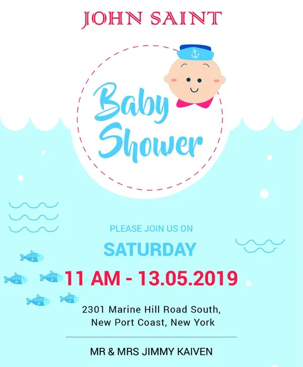 14+ Free Printable Baby Shower Invitations Free  Premium Templates