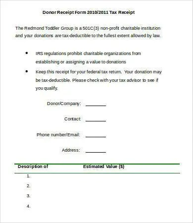 Printable Receipt Template - 33+ Free Word, PDF Documents Download