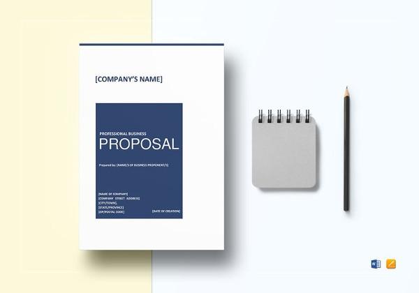 18+ Business Proposal Format Templates - PDF, DOC Free  Premium