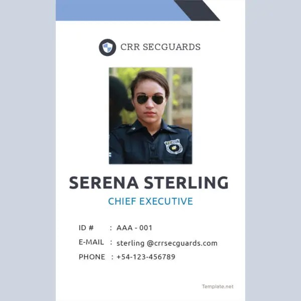 17+ ID Card Templates - Free Sample, Example, Format Download Free - sample id cards
