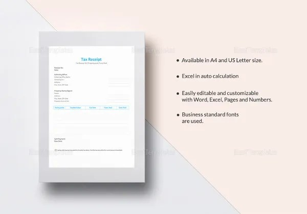 Paid Receipt Template - 22+ Free Excel, PDF Format Download Free - Paid In Full Receipt Template