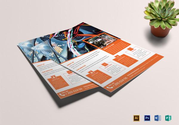 Computer Repair Flyers - 15+ Free PSD, Vector AI, EPS Format - computer repair flyer template