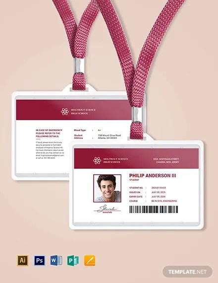 38+ ID Card Templates - PSD, EPS, PNG Free  Premium Templates