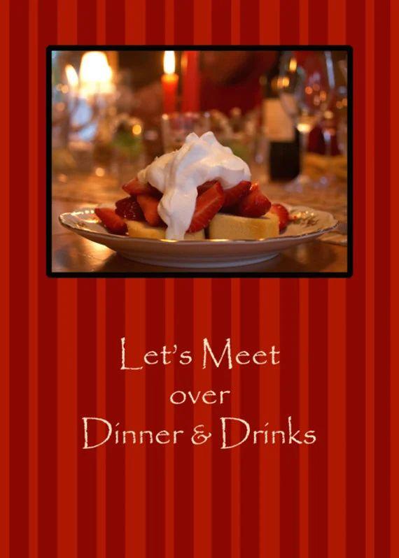 business dinner invitation sample