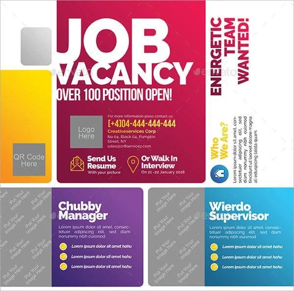 job fair flyer template free