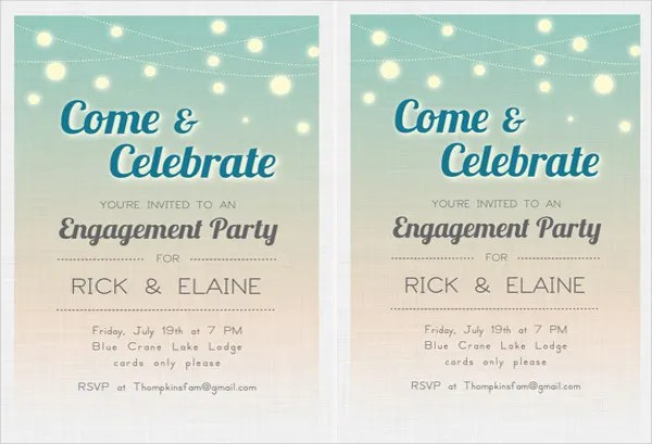 Free Engagement Party Invitations \u2013 gangcraftnet - free engagement party invites