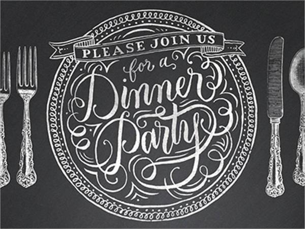 Dinner Invitation Templates Free  Premium Templates