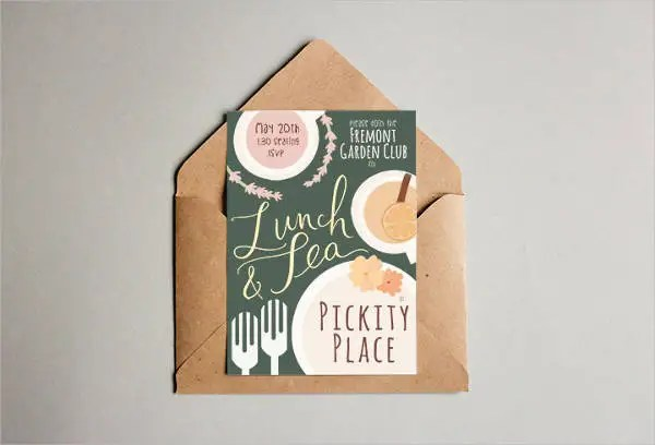 39+ Lunch Invitation Designs  Templates - PSD, AI Free  Premium