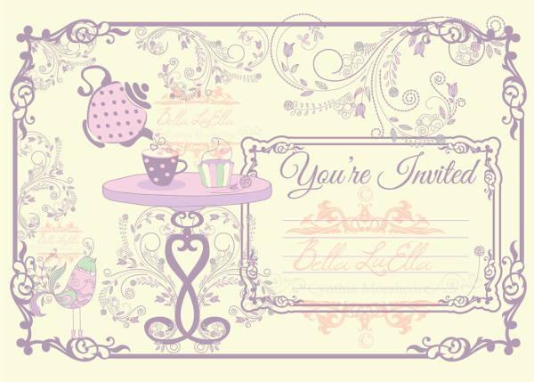 7+ Blank Party Invitations - Free Editable PSD, AI, Vector EPS