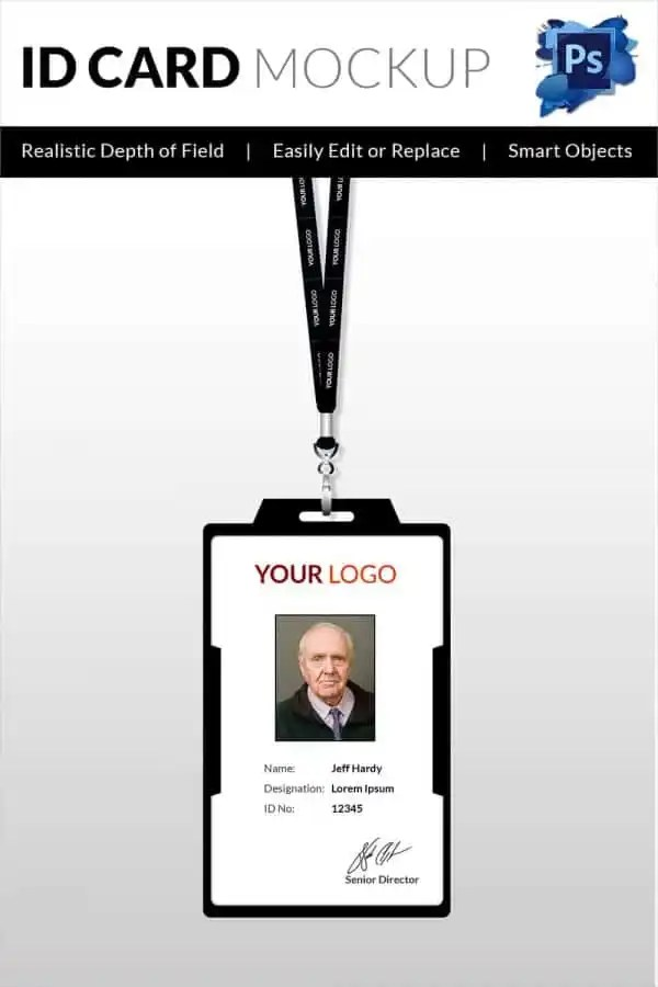 30+ Blank ID Card Templates - Free Word, PSD, EPS Formats Download - id card template