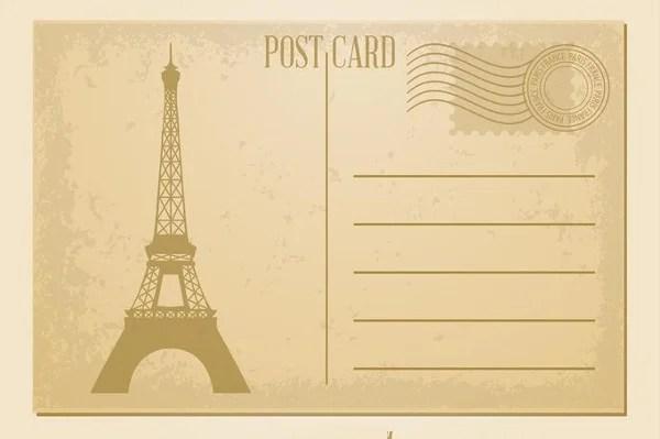 7+ Vintage Postcard Templates - Free PSD, AI, Vector EPS Format - printable postcard template free