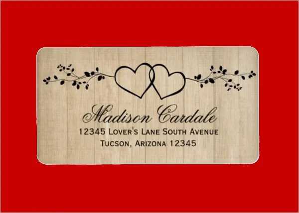 11+ Wedding Address Labels - PSD Free  Premium Templates