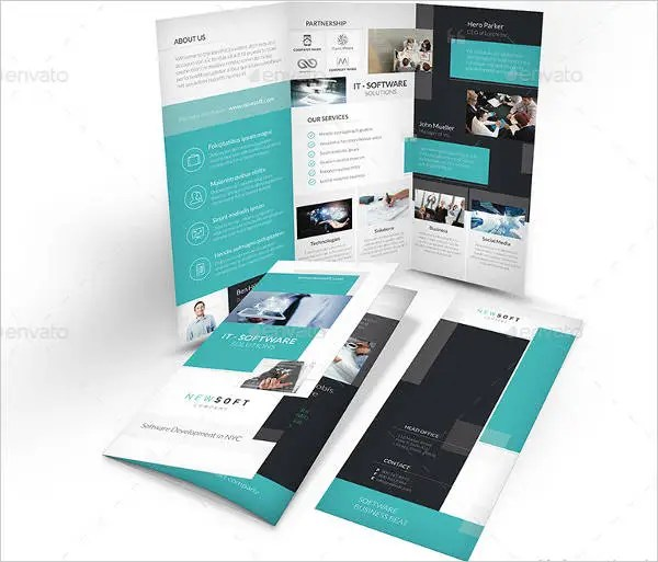 7+ Software Company Brochures - Editable PSD, AI, Vector EPS Format