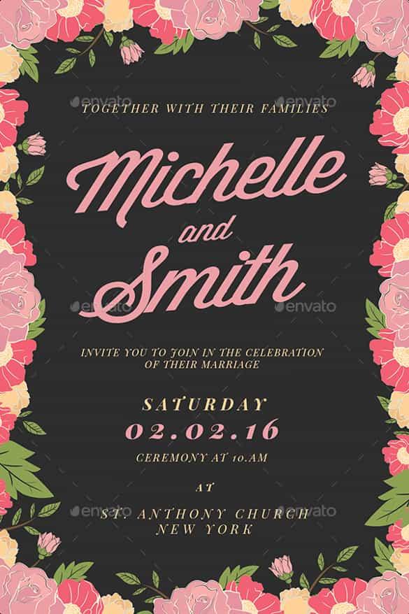 85+ Wedding Invitation Templates - PSD, AI Free  Premium Templates