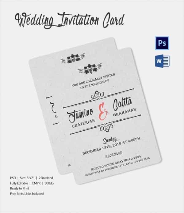 Wedding Invitation Email \u2013 gangcraftnet - marriage invitation mail format