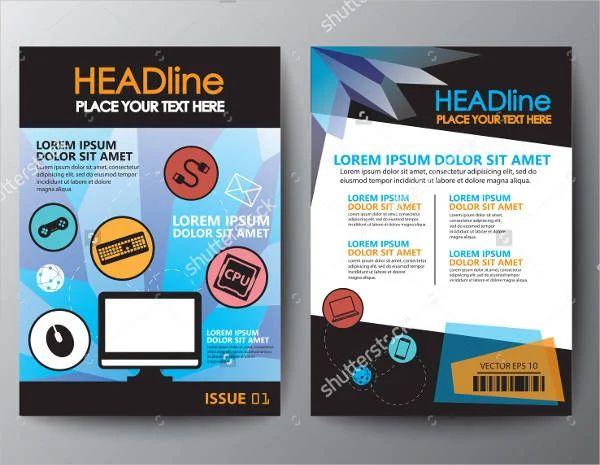 17 software company brochures design