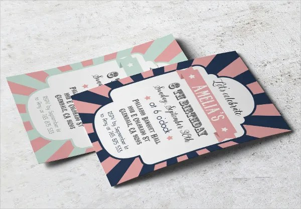 9+ Circus Invitation Templates - Free Editable PSD, AI, Vector EPS