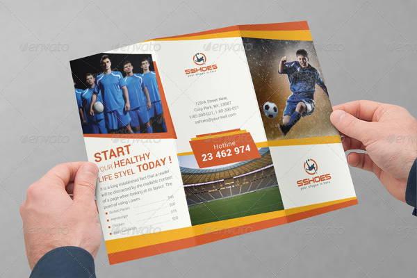 7+ Sports Event Brochures - Designs, Templates Free  Premium - sports brochure