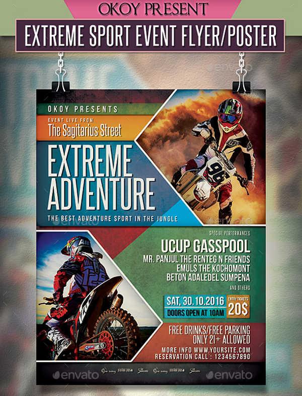 event flyer samples
