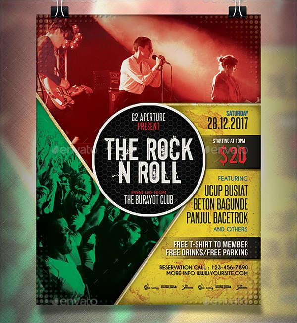 10+ Music Event Flyers - Design, Templates Free  Premium Templates - event flyer