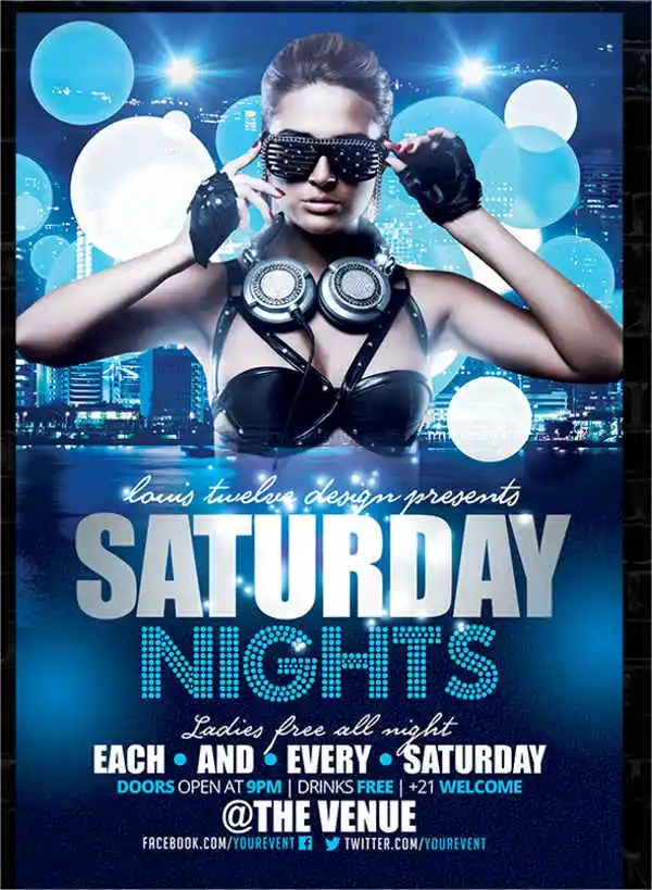10+ Nightclub Party Flyers - PSD, AI, Pages Free  Premium Templates
