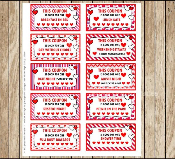 7+ Valentine\u0027s Day Coupon Templates - PSD, Vector, EPS, InDesign