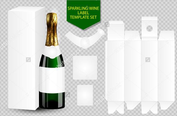 8+ Wine Bottle Label Templates - Design, Templates Free - free wine bottle label templates