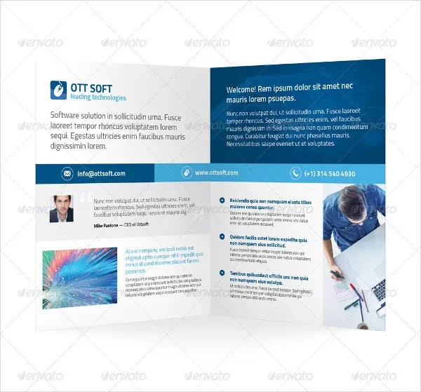 7+ Software Company Brochures - Editable PSD, AI, Vector EPS Format