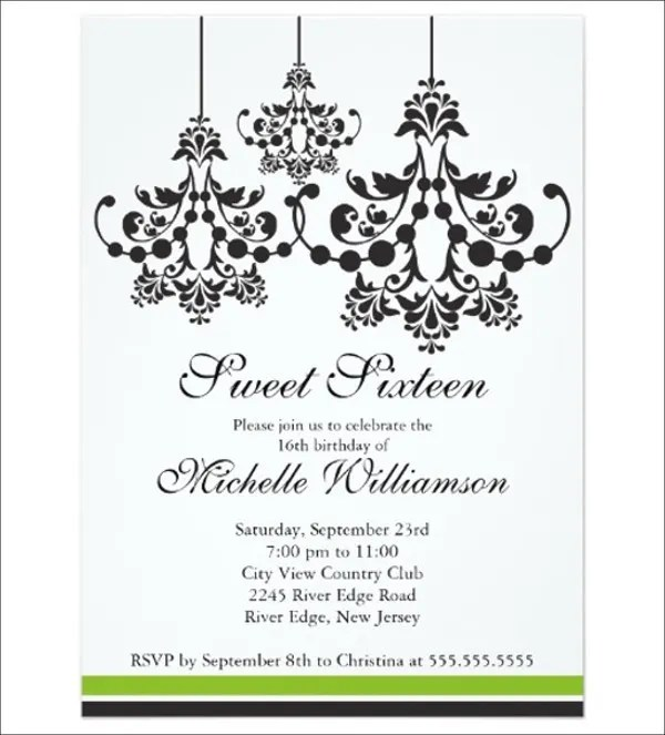 formal party invite - Towerssconstruction