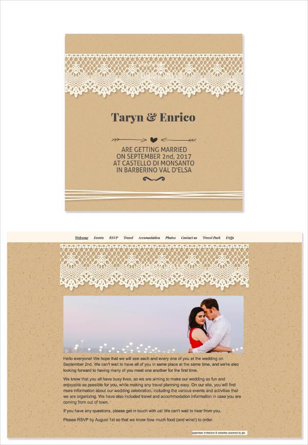 wedding invitation mail templates - Ozilalmanoof - marriage invitation mail format
