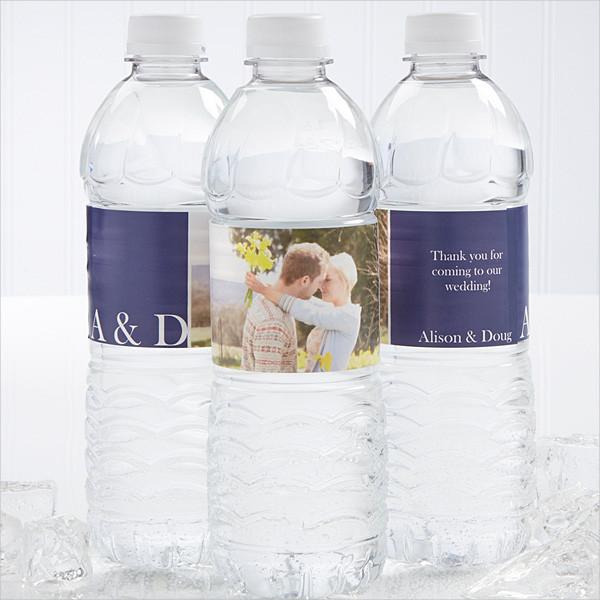 14 Water Bottle Label Templates Design Templates