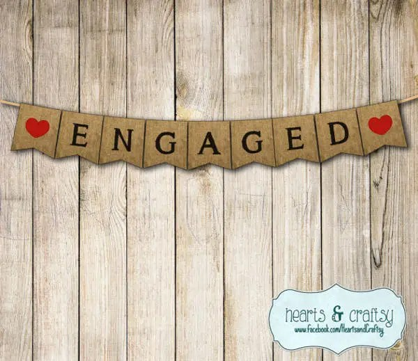 7+ Engagement Party Banners - PSD, AI Free  Premium Templates