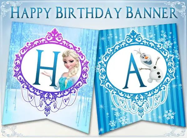 happy birthday printable signs
